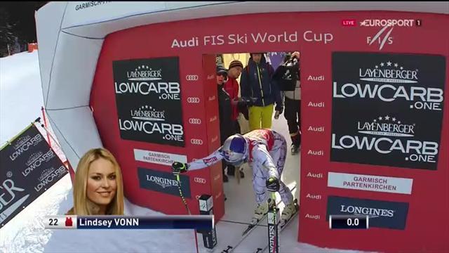 Encore une fois, Vonn a écrasé ses adversaires en descente