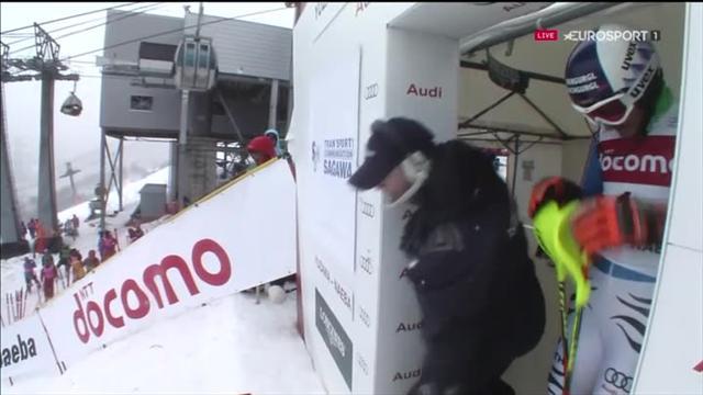 Le plus rapide en première manche, Dopfer est resté au pied du podium