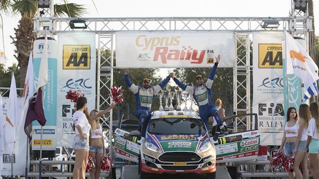 Özdemir takes ERC3 victory following controlled drive