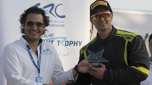 Le Colin McRae ERC Flat Out Trophy pour Tsouloftas