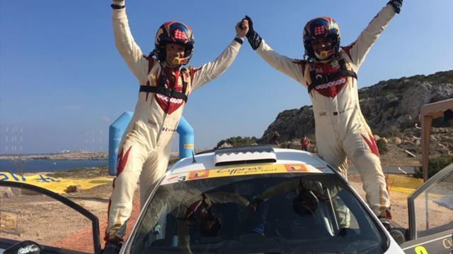 Breaking news : Al-Attiyah s'impose en ERC avec une victoire sur la Love Cyprus Golden Stage