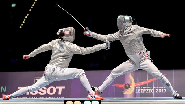 Andras Szatmari takes men's sabre title at World Championships in Leipzig