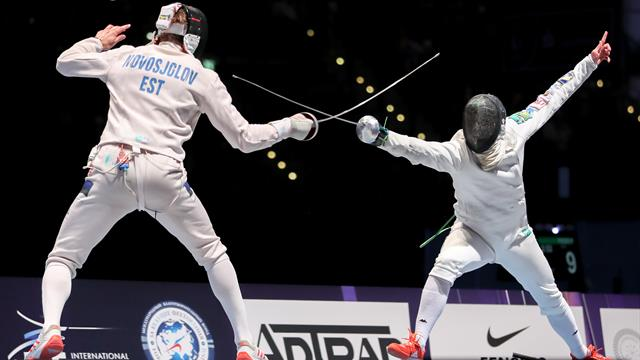 Paolo Pizzo wins another men's individual epee World Championship title in Leipzig