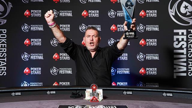 Philippe Le Touche s'adjuge le tournoi principal du PokerStars Festival Lille pour 143 000€