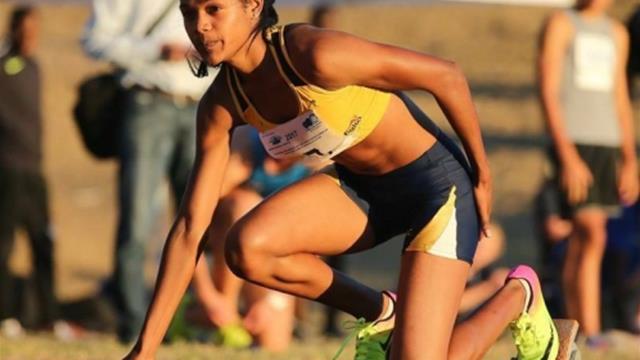 Mirada al oro de la velocista sudafricana en la Universiada