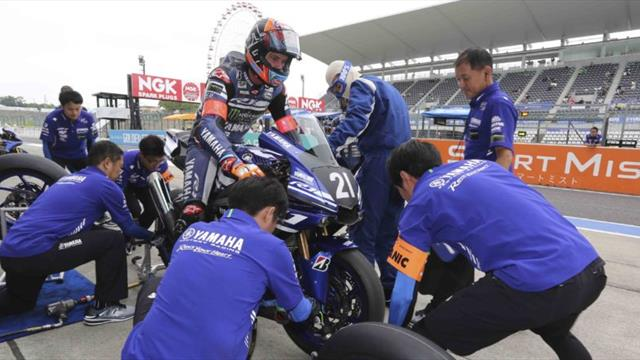 Yamaha Factory dominates qualifying at Suzuka