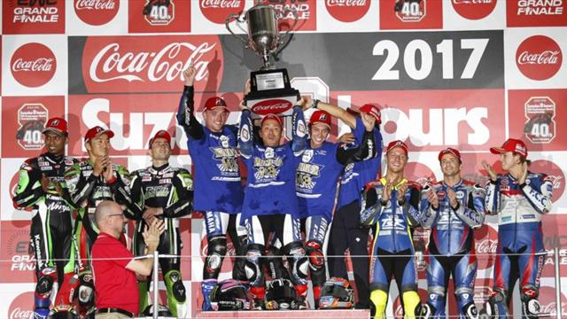 Yamaha Factory Racing Team pulls off hat-trick