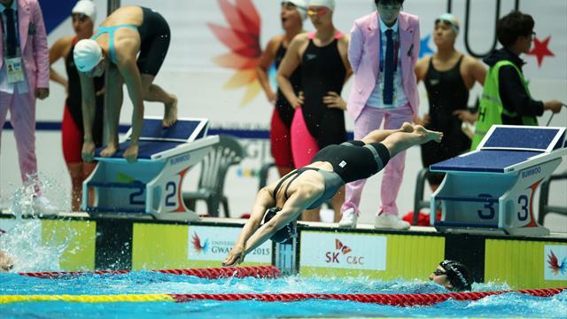 Первое золото Универсиады Российской Федерации принесли синхронные прыжки вводу
