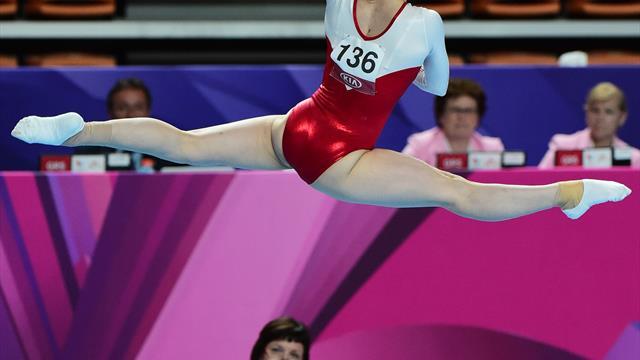 Rusia y Japón lideran el medallero en las pruebas de gimnasia artística de Taipei