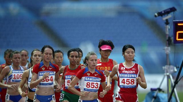 El atletismo estudiantil reparte sus primeras medallas de oro