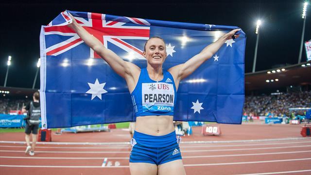 Pearson capsstellar month with Diamond League title