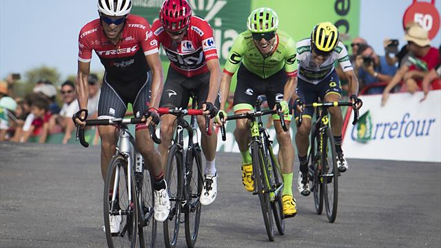 Woods solebright spot as uncertainty swirls around Cannondale-Drapac's future