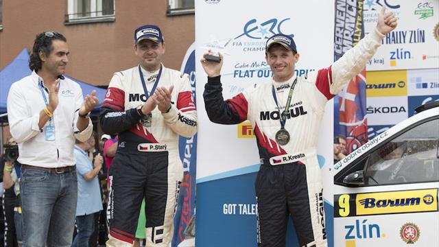 Kresta earns Colin McRae ERC Flat Out Trophy for final-stage charge