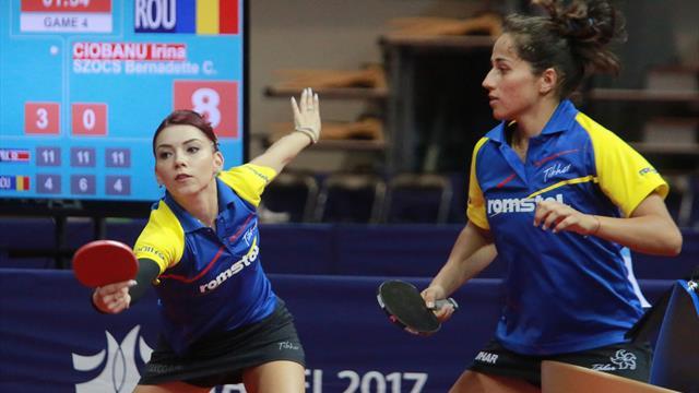 Universiade 2017 : Robinot en bronze en tennis de table
