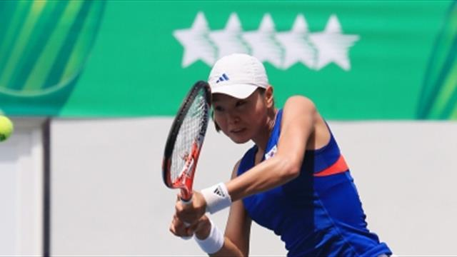 Summer Universiade: los estudiantes de Taipei, superiores en tenis