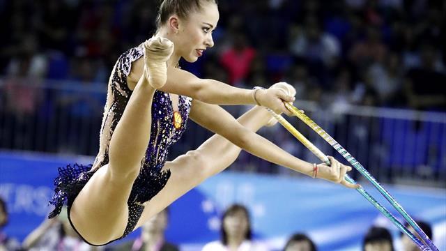 Taipei: supremacía de Rusia en las finales de gimnasia rítmica
