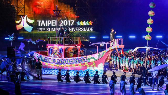 Summer Universiade 2017: Japón, Corea y China brillan en Taipei