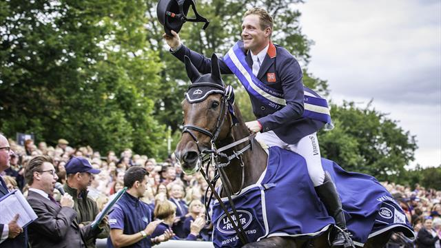 Townend leads British sweep at Burghley Horse Trials