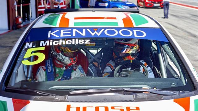 Les conseils du leader du WTCC Monteiro pour le pilote de F1 Vandoorne