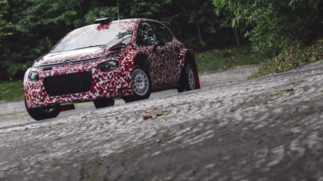 Les stars de l'ERC testent la nouvelle Citroën