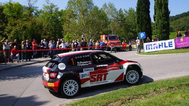 ERC Junior Gryazin a winner in Slovenia