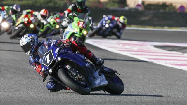SRC Kawasaki en pole au Bol d'Or