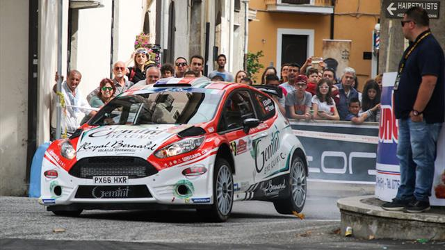 Lukyanuk out, Bouffier leads ERC in Italy