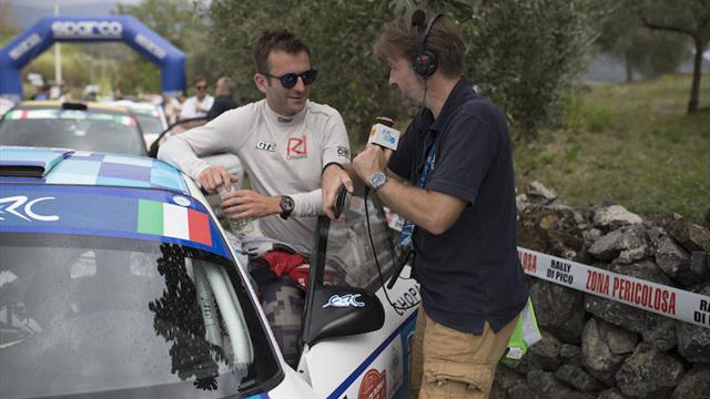 Follow Rally di Roma Capitale live on ERC Radio