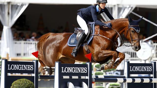 CSI 5* Lausanne: Simone Blum sorprende en el Gran Premio