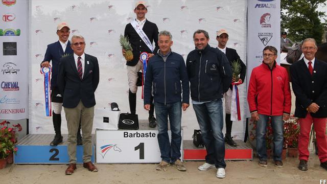 Benoit Cernin s'offre une troisième étape du Grand National à Barbaste