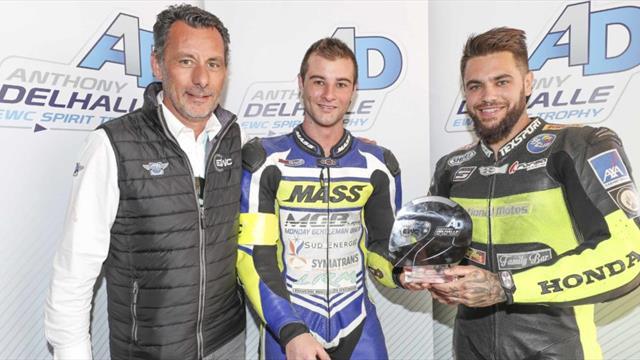 Anthony Delhalle EWC Spirit Trophy pour National Motos