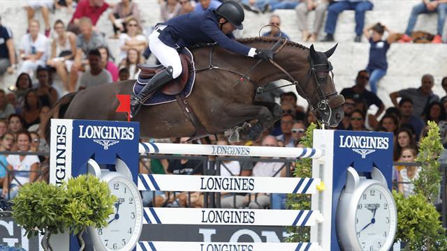 Le Longines Global Champions Tour se poursuit à Rome