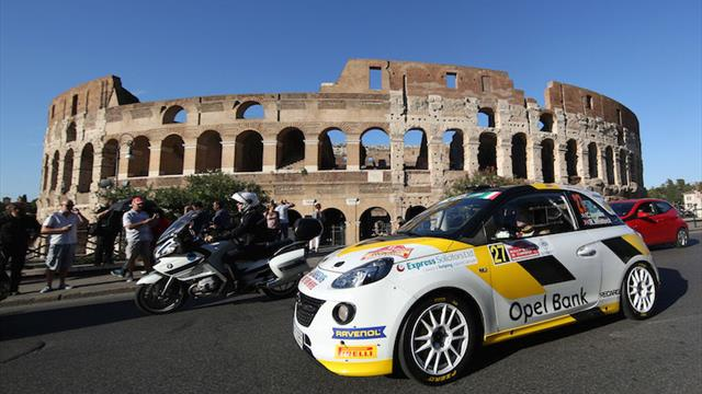 Les pilotes ERC saluent le Rally di Roma Capitale