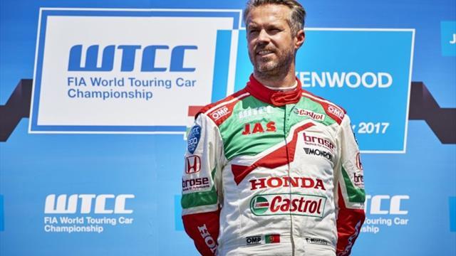 Communiqué de l'équipe Castrol Honda WTCC au sujet de Tiago Monteiro