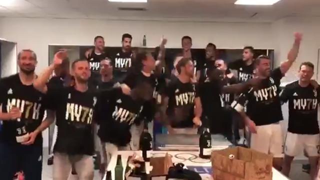 Juventus campione d'Italia: i festeggiamenti social dei bianconeri